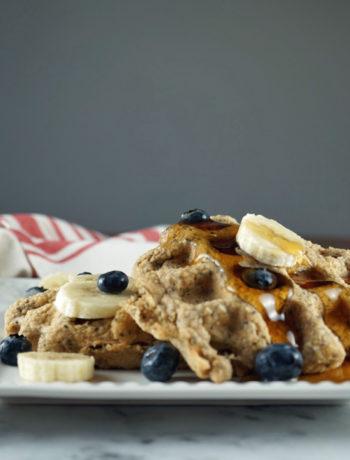 breakfast recipes IBS - Gluten free oat waffles
