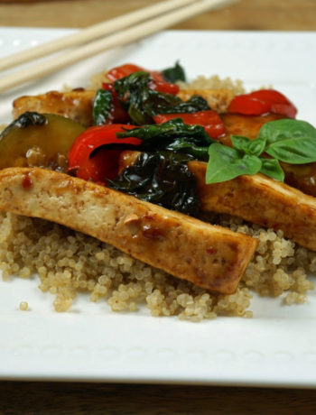 low FODMAP foods - tofu thai stir fry