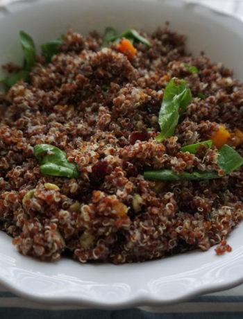 FODMAP salad recipe - fall quinoa salad