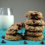 desserts FODMAP diet - Dark chocolate chip oat cookies
