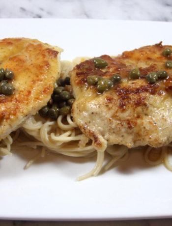 IBS Chicken Recipes - Gluten free chicken piccata