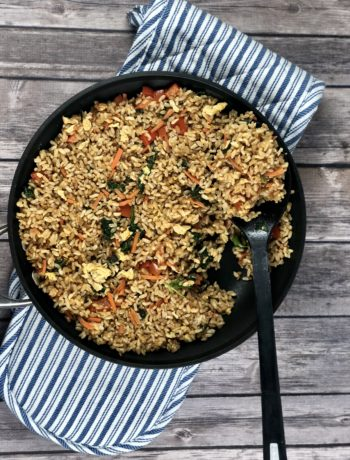 Low FODMAP foods - Vegetable fried rice