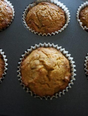 breakfast recipes IBS - coconut pumpkin muffin
