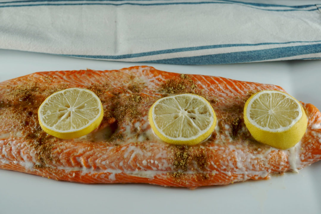 low FODMAP foods - Baked Salmon