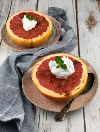 Low FODMAP Breakfast - Broiled Grapefruit