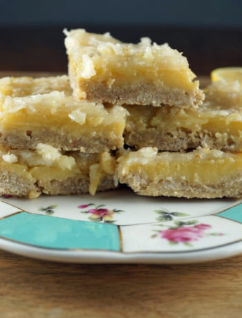 Coconut Lemon Bars- FODMAP desserts