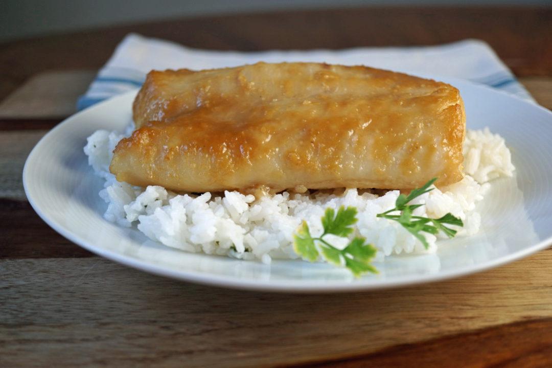 FODMAP dinner recipes - miso cod