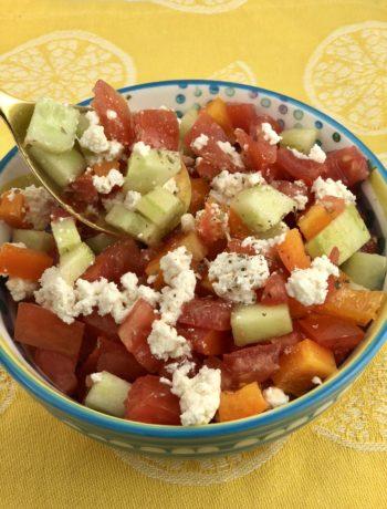 Greek Salad - IBS diet plan