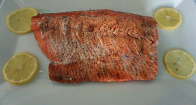 FODMAP foods - Grilled Salmon