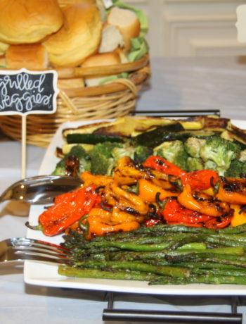 low FODMAP foods - Grilled Vegetables