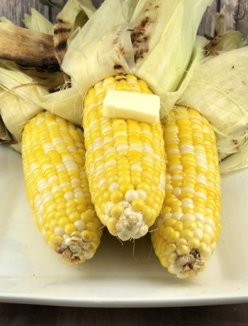 low FODMAP foods - Grilled Corn on the Cob