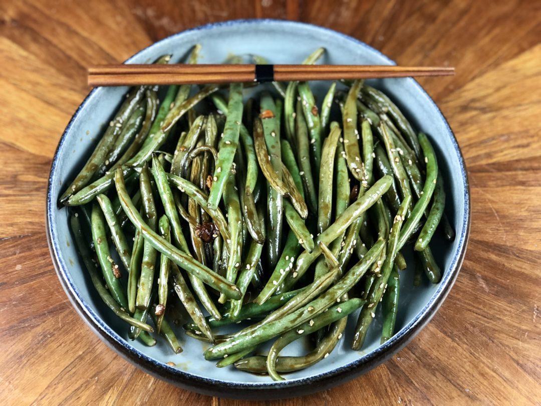 Asian Green Beans - low FODMAP side dish