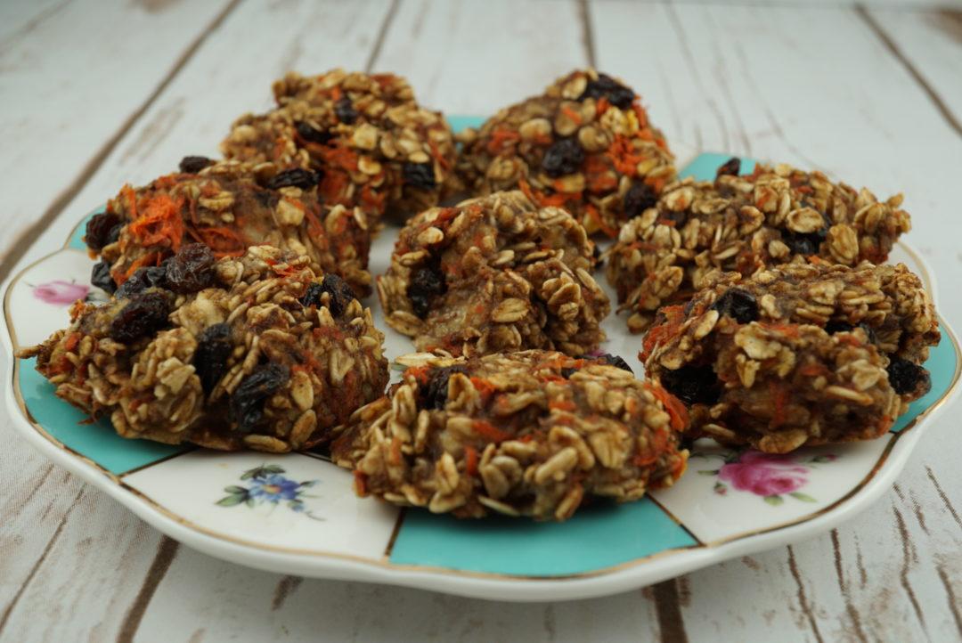 breakfast recipes IBS - Carrot Granola Cookies