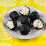 FODMAP diet desserts - chocolate coconut truffles