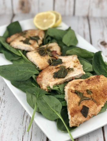 Low FODMAP Food - Herbed Turkey Cutlets