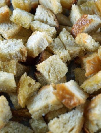 FODMAP diet - croutons
