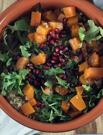 Fall Harvest Salad - fodmap side dish