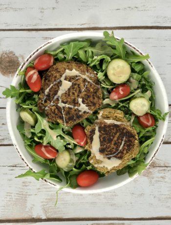 Falafel & Arugula Salad