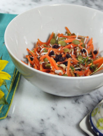 IBS diet plan - Grandpa's Carrot Slaw