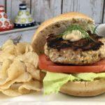 FODMAP Foods - Dill Turkey Burgers