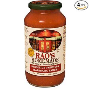 Rao's sensitive formula marinara sauce