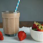 Chocolate Strawberry Milkshake