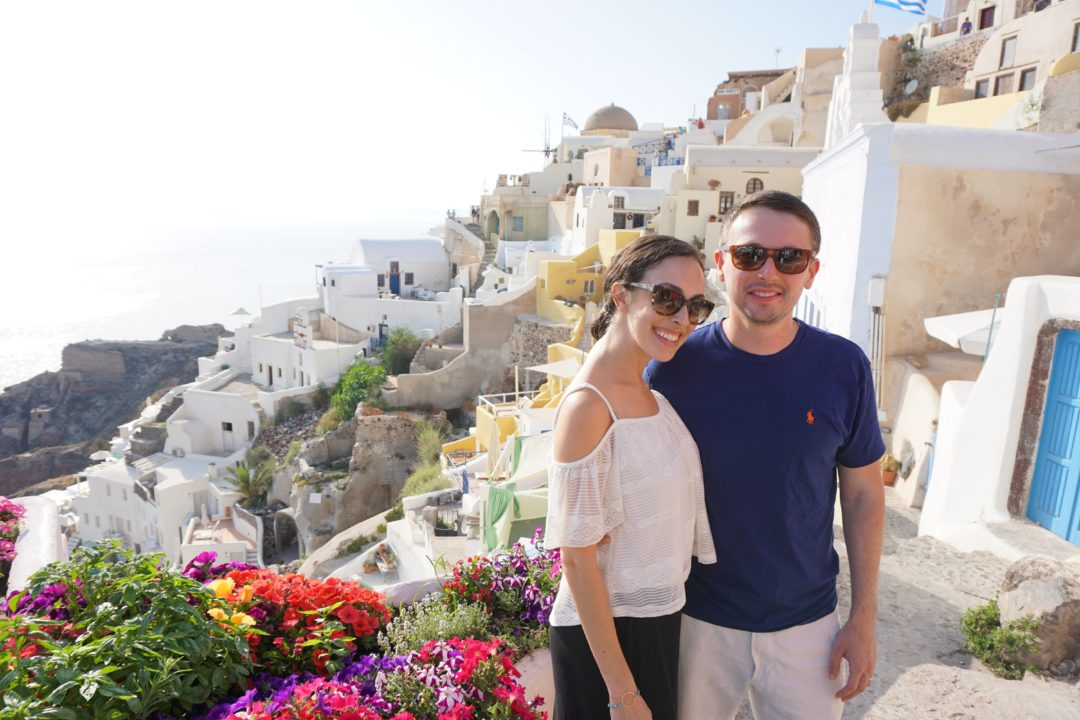 FODMAP travel - Santorini, Greece