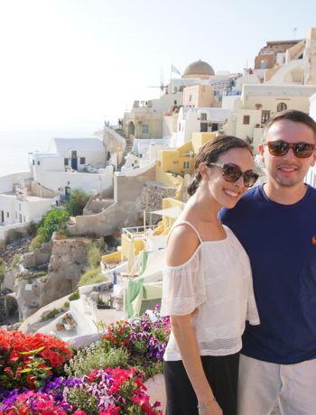FODMAP travel - Santorini, Greece