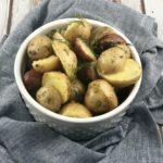 Fodmap side dish - vinegar based potato salad