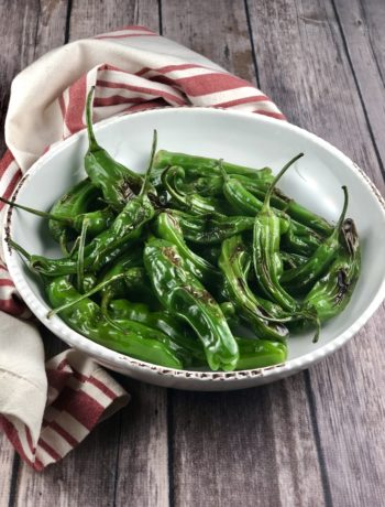 FODMAP snacks - Shishito Peppers