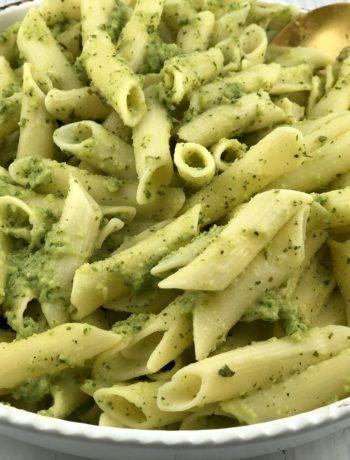 FODMAP dinner recipes - Zucchini & basil pesto