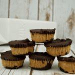 FODMAP desserts - Dark Chocolate Peanut Butter Cups FODMAP SAFE