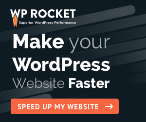 WP Rocket Speed up your site banner
