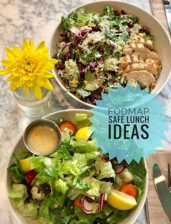 FODMAP safe lunch from Flower Child Restaurant