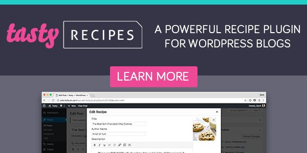 WP Tasty Recipes Best food blog plugin