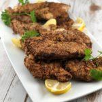 low FODMAP diet recipes - gluten- free chicken schnitzel