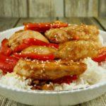 FODMAP Chicken recipes - Healthified Sesame Chicken