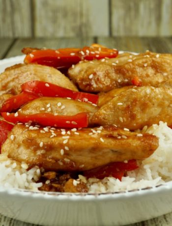 FODMAP Chicken recipes - Healthified Sesame Chicken