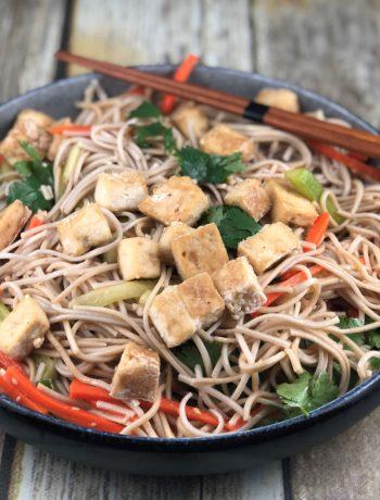 FODMAP Foods - soba noodle salad