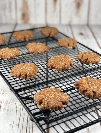 FODMAP desserts - Peanut Butter Cookies