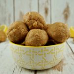 FODMAP snack recipes - Lemon Energy Balls