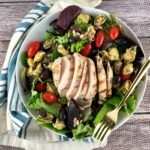 FODMAP chicken recipes - Copy Cat Version of Cafe Express Deli Chicken Salad
