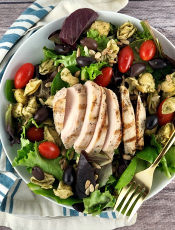 FODMAP chicken recipes - Copy Cat Version of Cafe Express Deli Chicken Salad