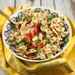 FODMAP salad recipe - Summer Pasta Salad