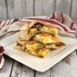 FODMAP breakfast recipes - breakfast quesadilla