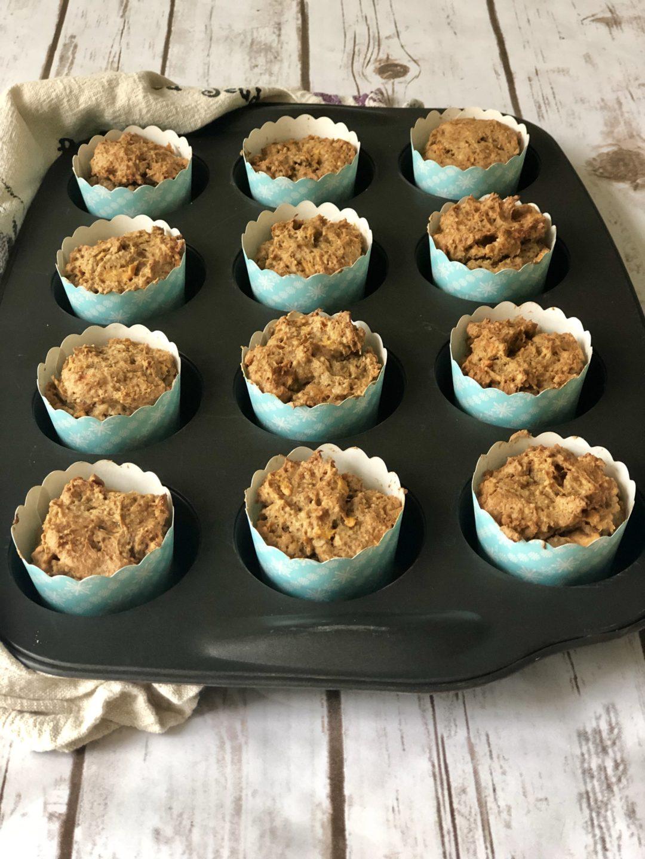 FODMAP muffin recipe - Papaya Oat Muffins