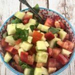 FODMAP salad recipes - Israeli Salad