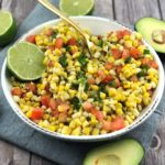 FODMAP salad recipes - Mexican Corn Salad