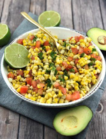FODMAP salad recipes - Mexican Corn Salad