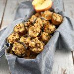 low FODMAP diet snack - Cinnamon apple cornbread muffins